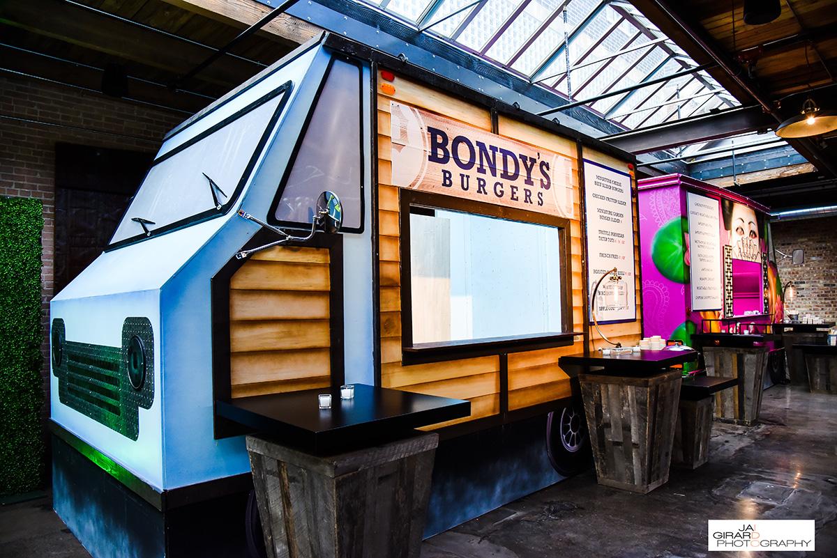 Parkers Baseball Themed Bar Mitzvah Food Trucks