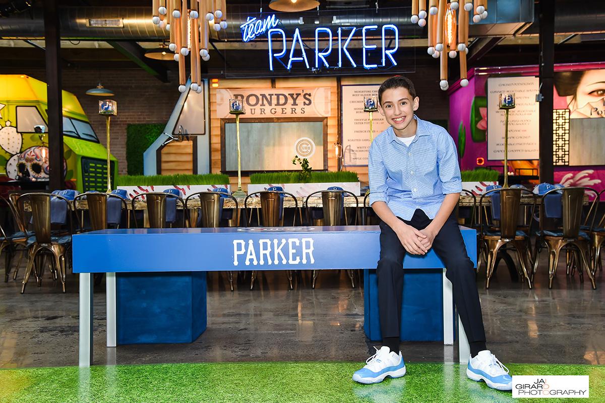Parkers Baseball Themed Bar Mitzvah