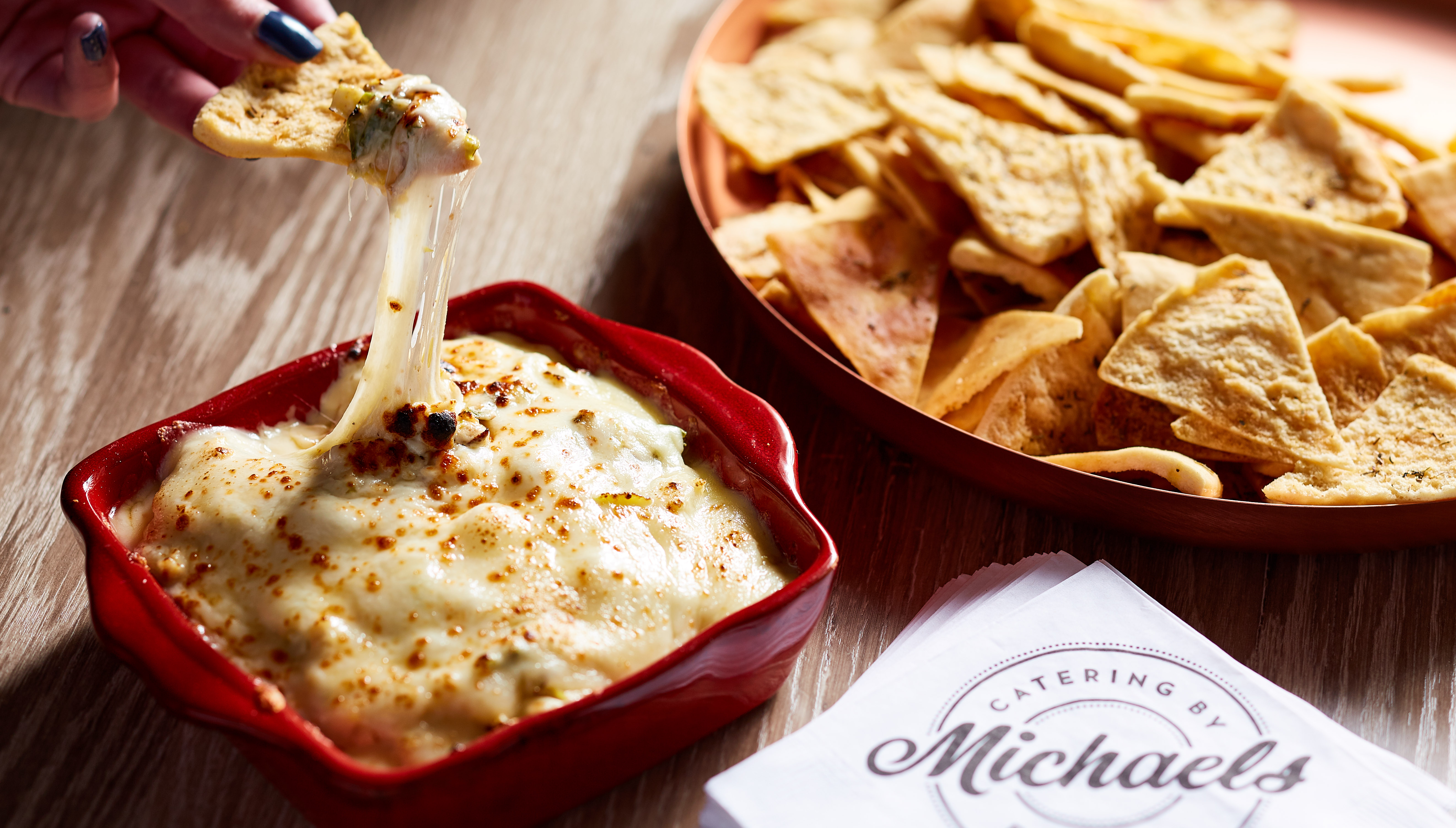 Holiday Cheesy Brussels Sprouts Dip
