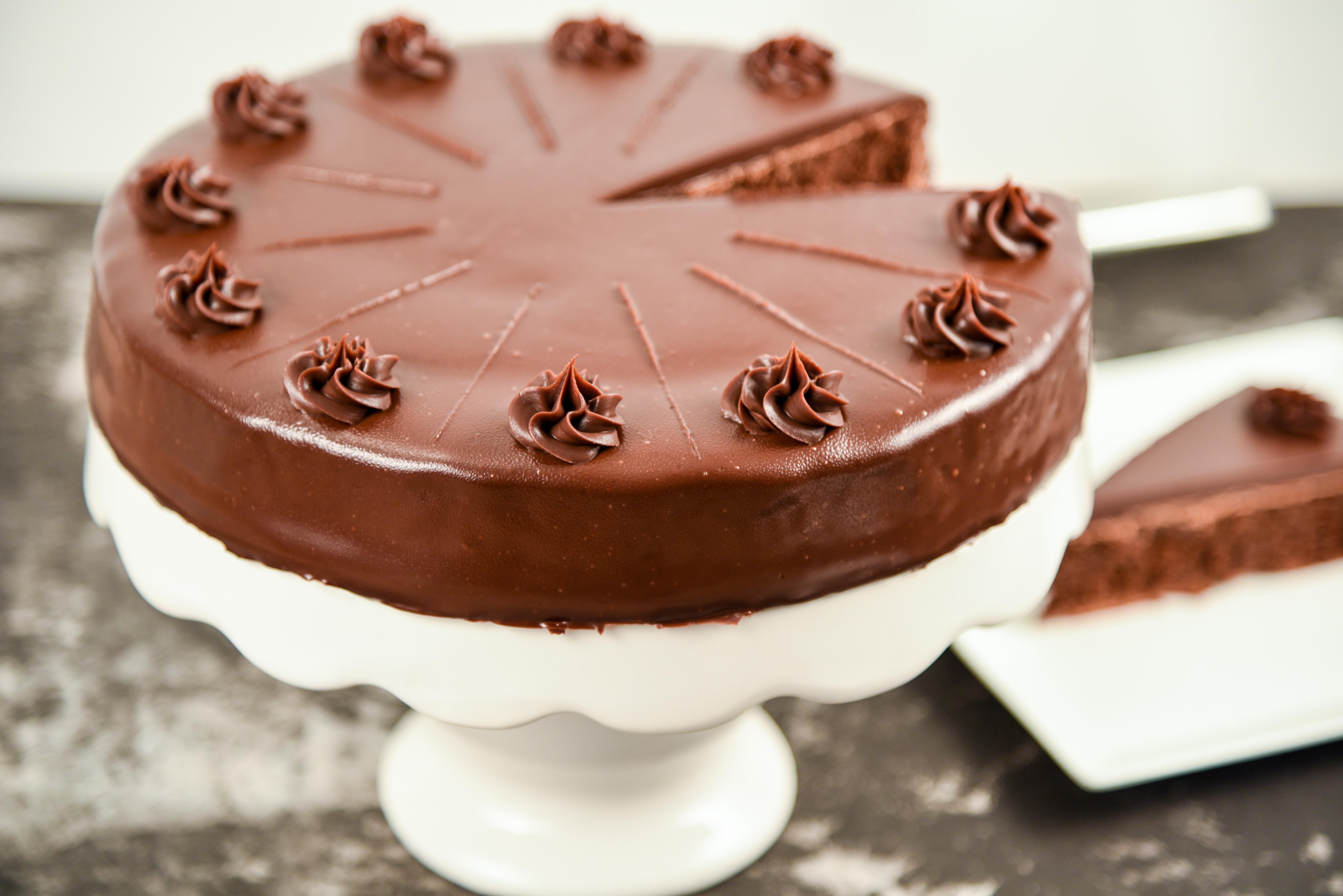 Yom Kippur Dessert Chocolate Cake