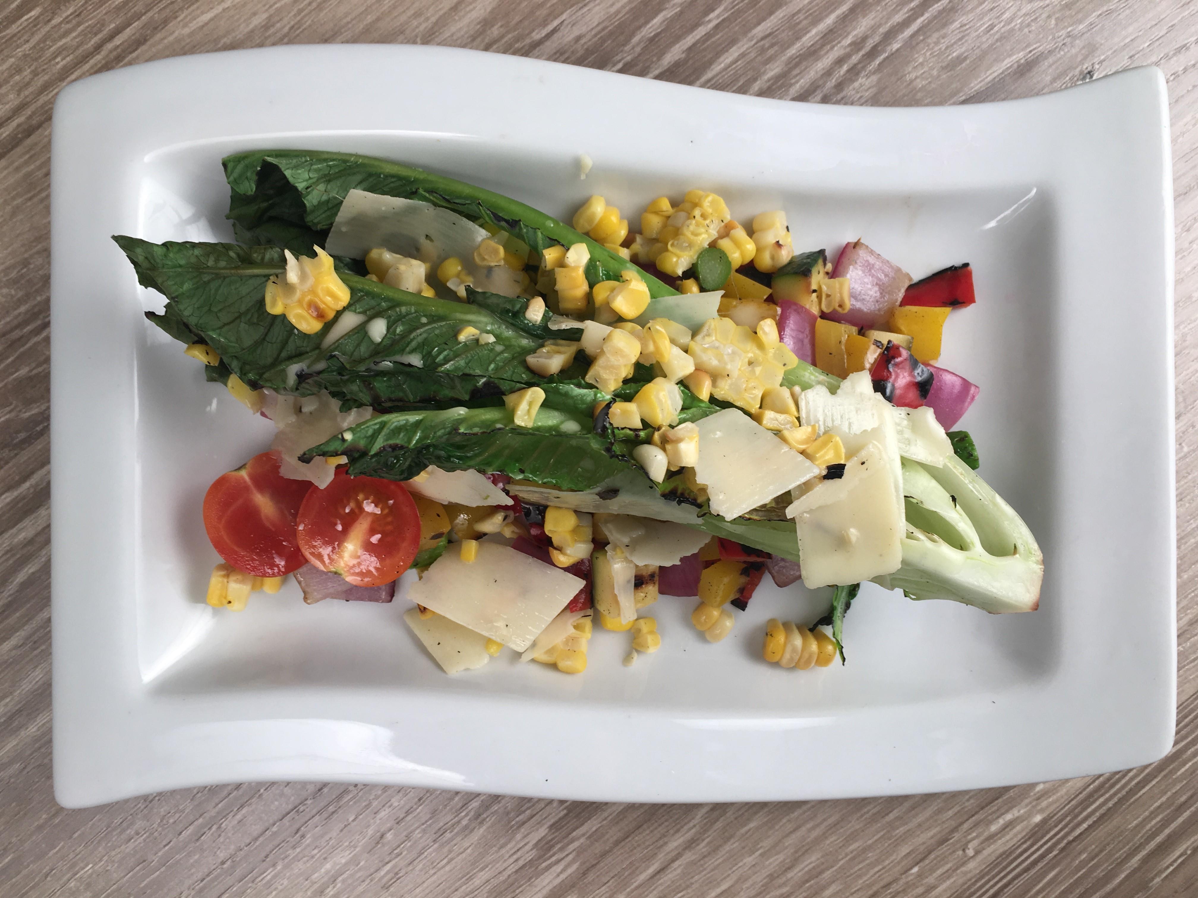 Grilled Vegetable Wedge Salad