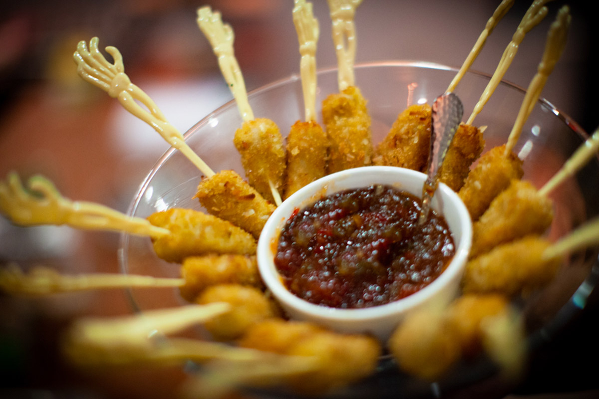 Spooky Halloween Themed Appetizers and Finger Foods