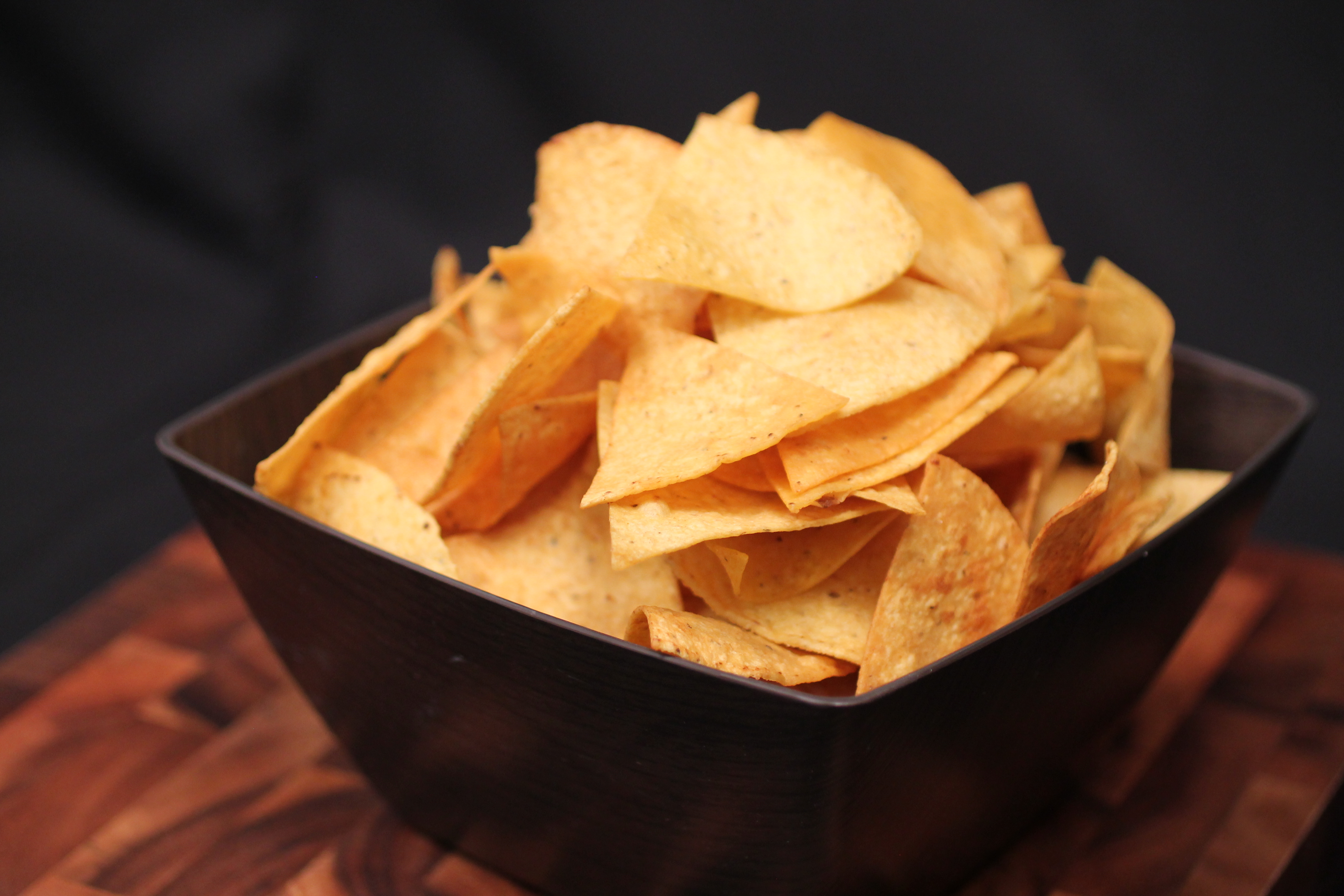 Homemade Lime Tortilla Chips