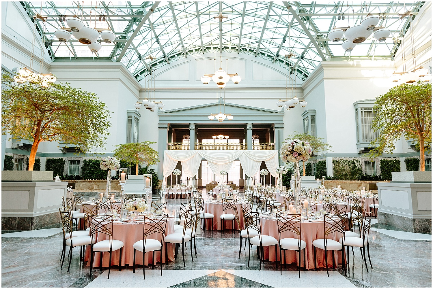 Harold Washington Library Wedding Reception
