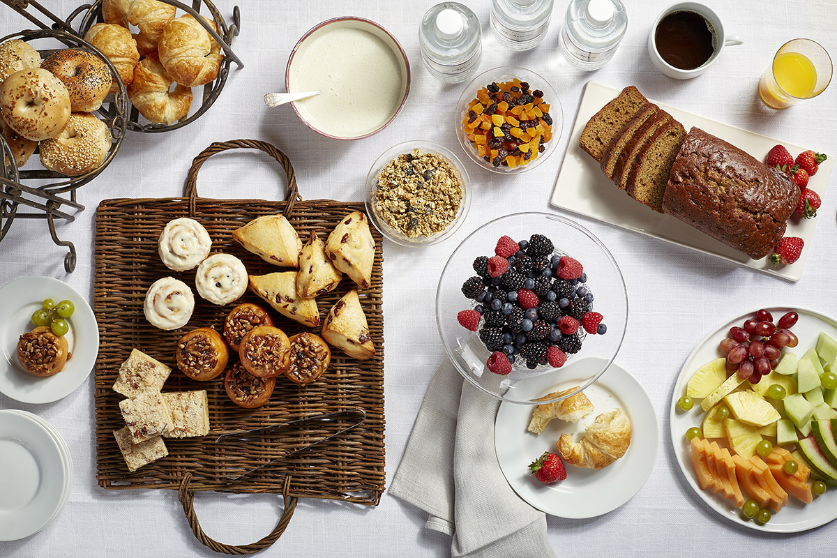 Delicious Brunch Spread for Mother's Day