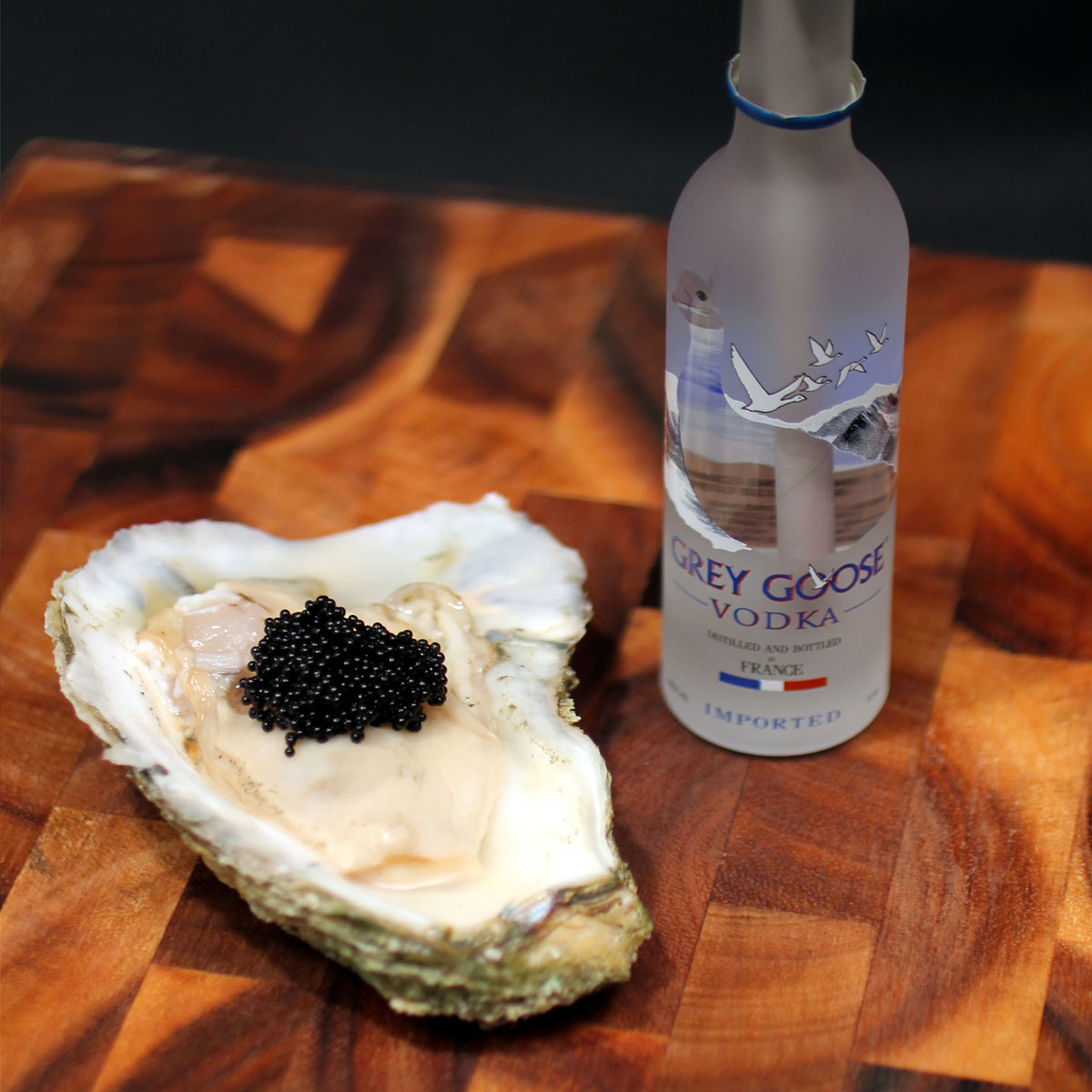 Mini Grey Goose and Oyster