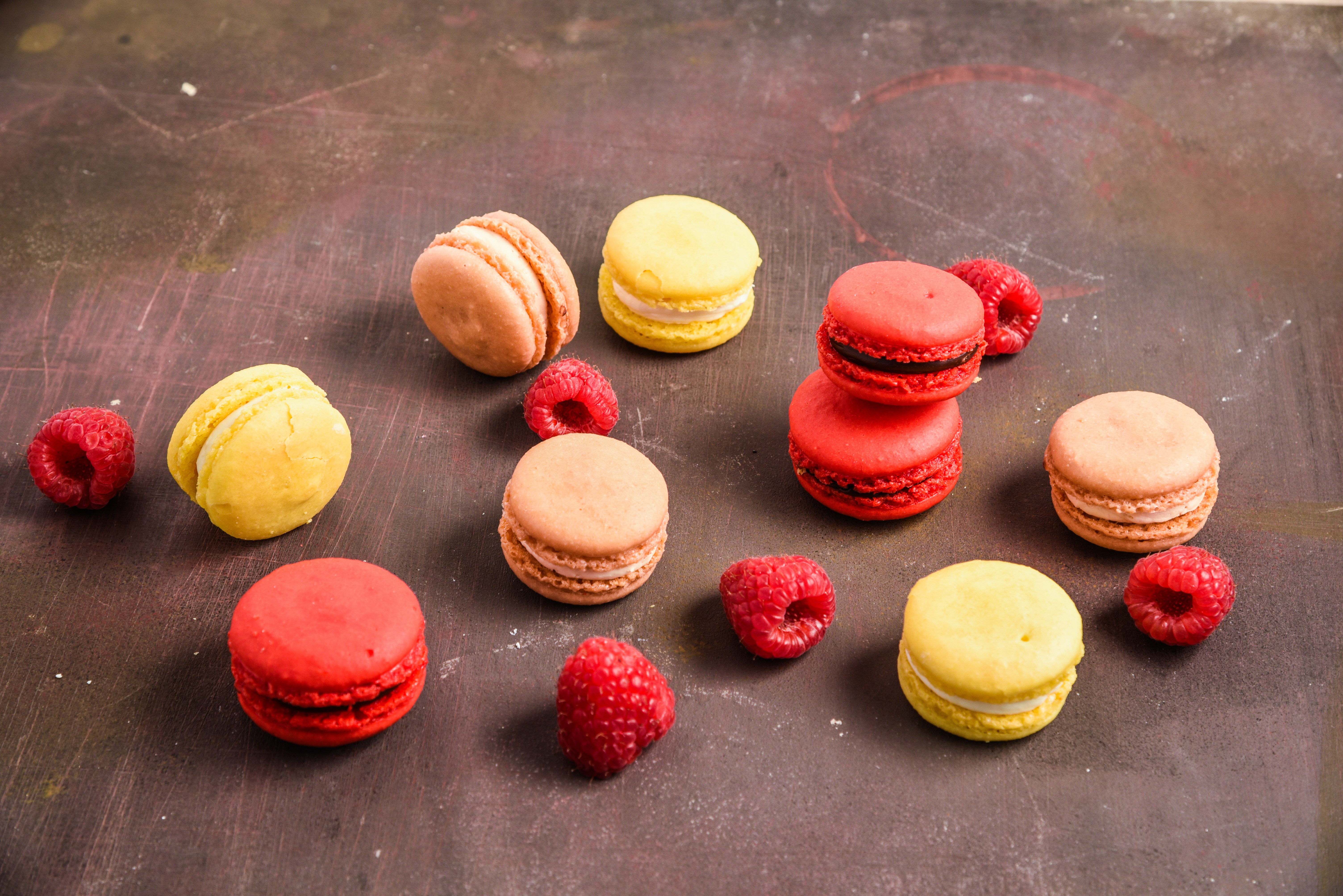 Assorted Summer Macarons